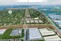 Khu công nghiệp LHG3 nằm sát khu công nghiệp Long Hậu 1 và 2