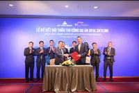 Coteccons và Đất Xanh Group ký kết gói thầu thi công dự án Opal Skyline