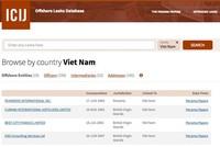Kết quả tìm kiếm liên quan tới Việt Nam trong hồ sơ Panama.