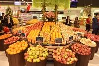 Hàng hóa trong siêu thị Vinmart