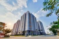 Toàn cảnh dự án Lovera Vista với góc 2 mặt tiền đường tọa lạc trong khu dân cư Phong Phú 4, khu Nam TP.HCM.