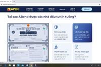 Trái phiếu APEC được giới thiệu trên website của Tập đoàn.