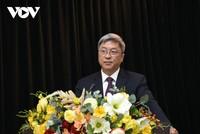 Thứ trưởng Bộ Y tế Nguyễn Trường Sơn phát biểu tại Hội nghị Báo cáo viên Trung ương tháng 3/2021.