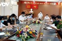 Cuộc họp đã thống nhất phương án giãn cách xã hội toàn huyện Diễn Châu theo chỉ thị 15 của Thủ tướng Chính phủ.