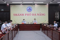 Cuộc họp ban chỉ đạo phòng chống dịch Covid-19 thành phố Đà Nẵng chiều 19/6.