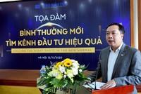 Ông Lê Trọng Minh, Tổng Biên tập Báo Đầu tư phát biểu khai mạc buổi Tọa đàm