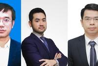 Từ trái qua phải: Ông Nguyễn Văn Minh, ông Võ Quốc Lợi, ông Trần Ngọc Minh
