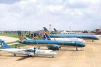 Vietnam Airlines đang đứng trước nguy cơ mất thanh khoản, nếu không được hỗ trợ tài chính kịp thời. Ảnh: A.M