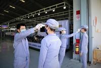 Các KCN trên địa bàn tỉnh Quảng Nam tăng cường phòng chống dịch bệnh Covid-19.