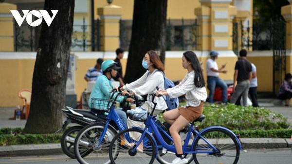 TP.HCM sẽ thí điểm xe đạp công cộng Mobike trên địa bàn Quận 1.