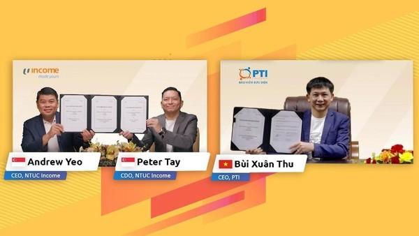 PTI hợp tác với công ty bảo hiểm công nghệ của Singapore