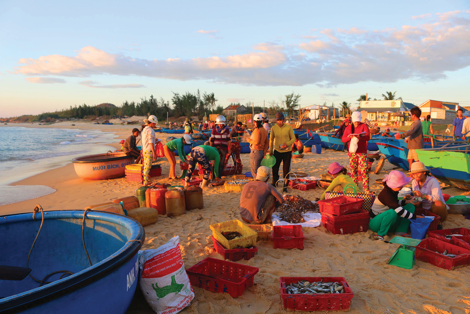 Chợ biển Phước Đồng