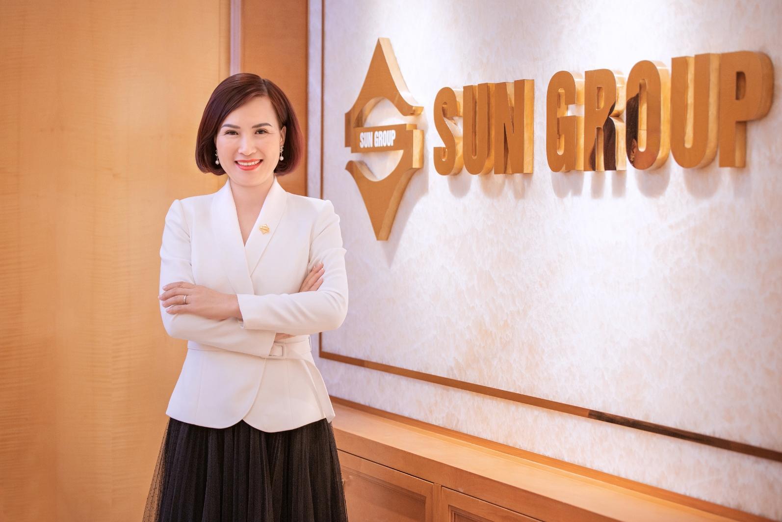 Bà Bùi Thị Thanh Hương, Phó chủ tịch HĐQT, Tổng giám đốc Tập đoàn Sun Group