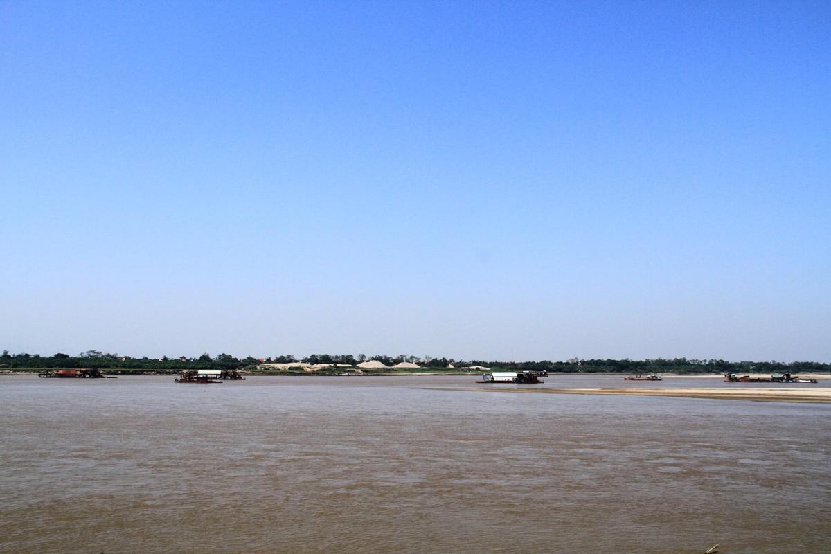 Ba Vì, Hà Nội: Tàu hút cát hoạt động ngày đêm ảnh 8