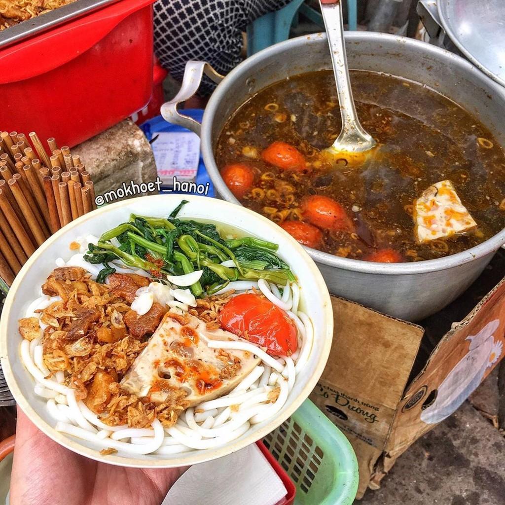 Bánh canh cua và 7 món chuẩn vị mùa thu ngon nức tiếng khu hồ Tây ảnh 1