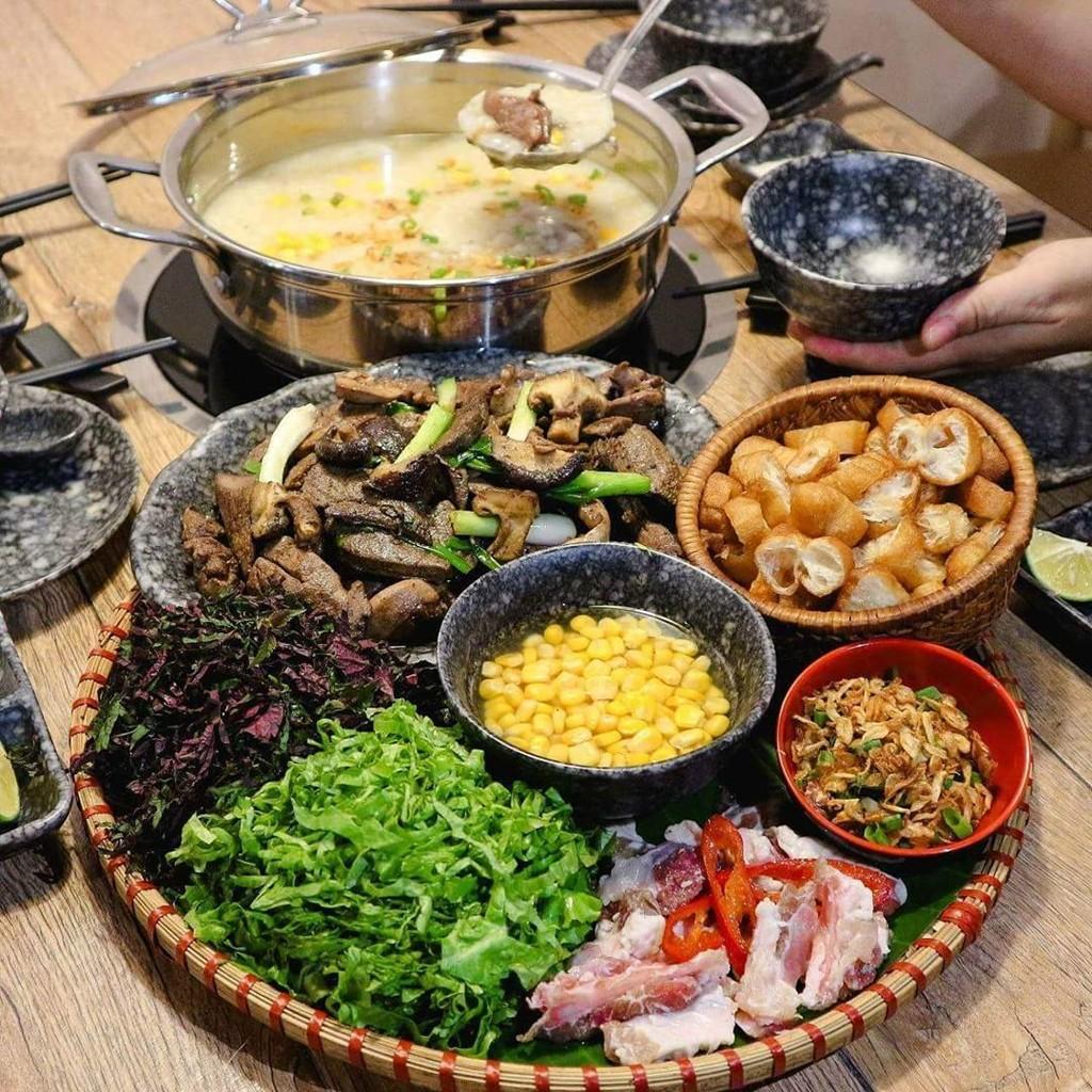 Cháo lòng, lẩu tteokbokki và 7 món nóng hổi ngày Hà Nội trở lạnh ảnh 2