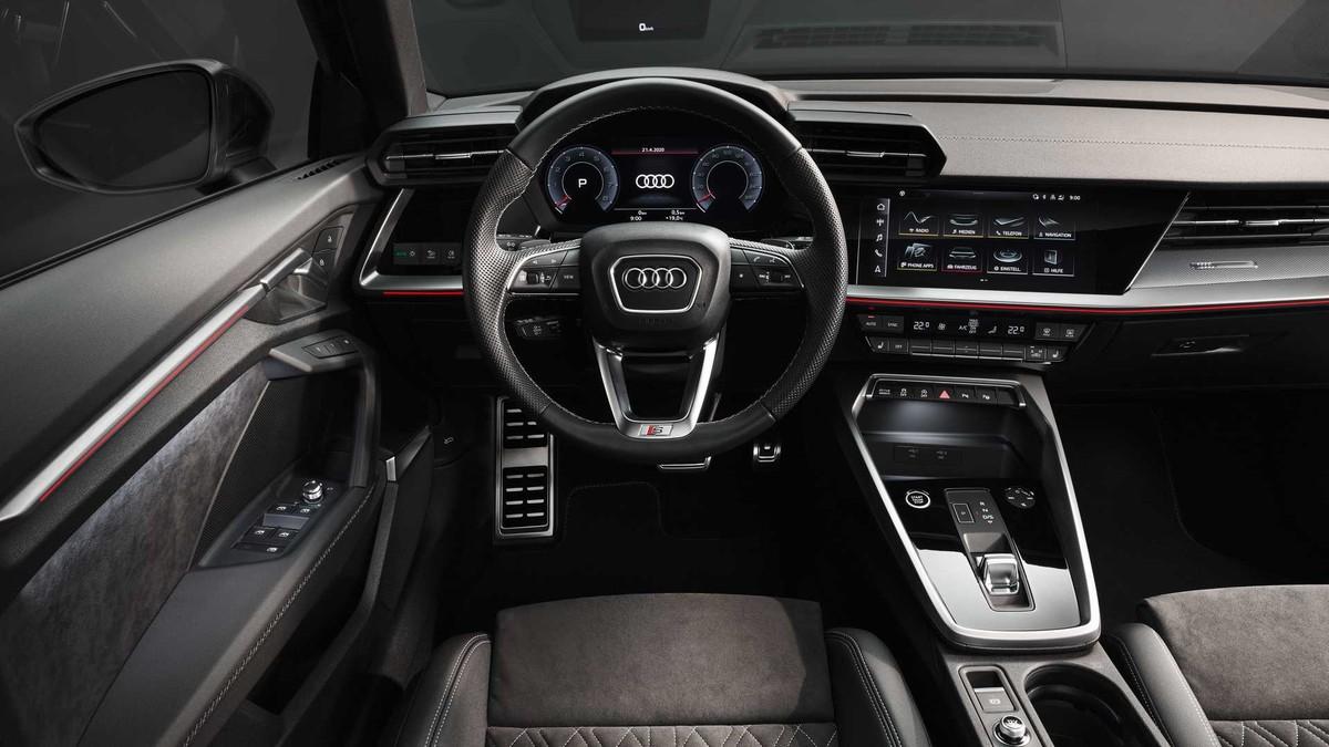 Audi A3 sedan 2021: Thiết kế hầm hố với công nghệ hiện đại hơn ảnh 3