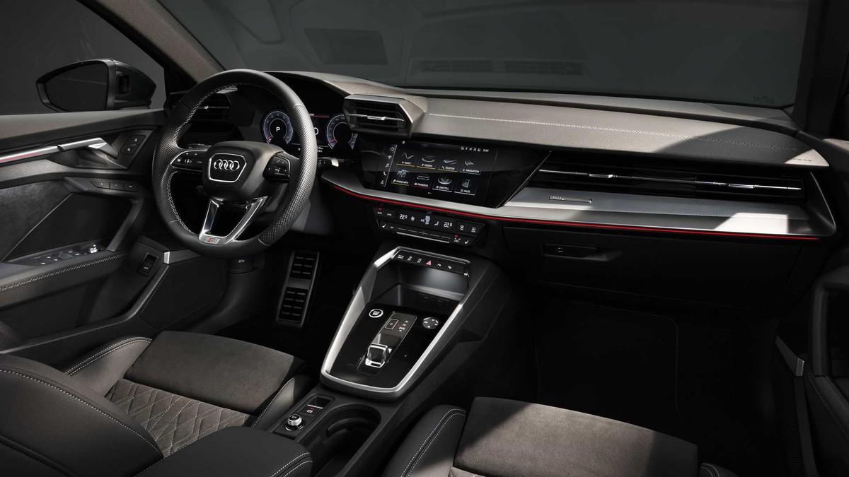 Audi A3 sedan 2021: Thiết kế hầm hố với công nghệ hiện đại hơn ảnh 4