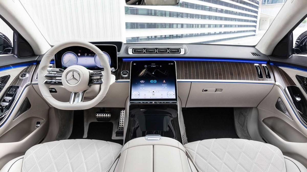 Mercedes-Benz S580e 2021: Mẫu xe được trang bị công nghệ hiện đại nhất với công suất lên đến 510 mã lực ảnh 5