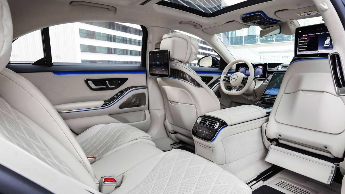 Mercedes-Benz S580e 2021: Mẫu xe được trang bị công nghệ hiện đại nhất với công suất lên đến 510 mã lực ảnh 6