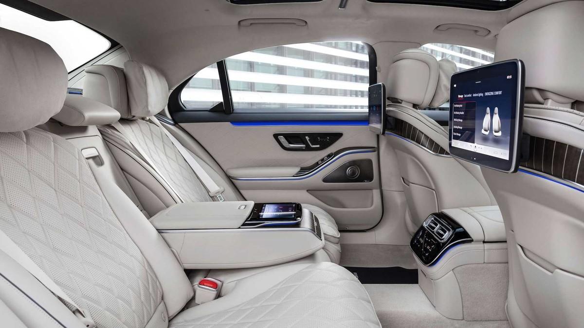Mercedes-Benz S580e 2021: Mẫu xe được trang bị công nghệ hiện đại nhất với công suất lên đến 510 mã lực ảnh 8