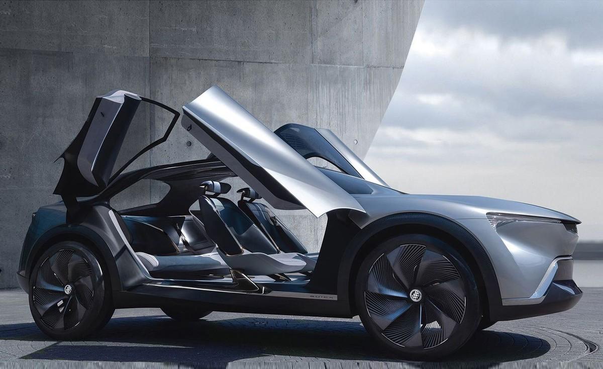 Những mẫu xe độc đáo nhất và có thể là tương lai của ngành xe điện tại Triển lãm Ô tô Bắc Kinh 2020 ảnh 1
