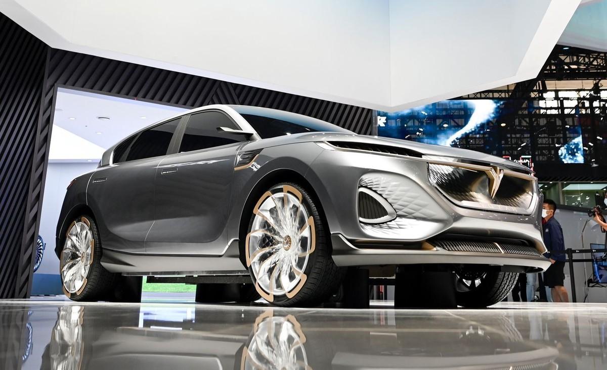 Những mẫu xe độc đáo nhất và có thể là tương lai của ngành xe điện tại Triển lãm Ô tô Bắc Kinh 2020 ảnh 12