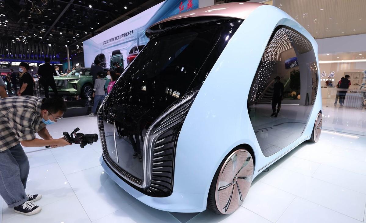 Những mẫu xe độc đáo nhất và có thể là tương lai của ngành xe điện tại Triển lãm Ô tô Bắc Kinh 2020 ảnh 6