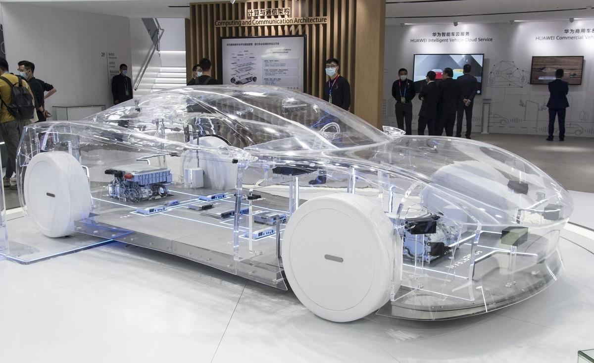 Những mẫu xe độc đáo nhất và có thể là tương lai của ngành xe điện tại Triển lãm Ô tô Bắc Kinh 2020 ảnh 8