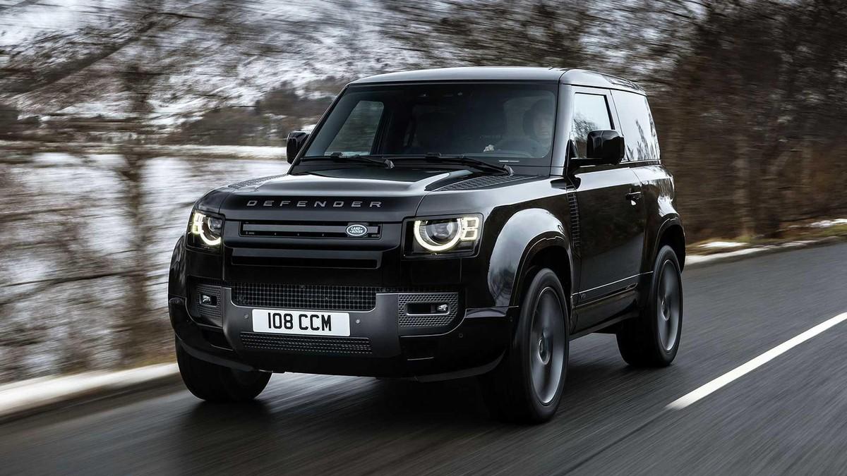 Land Rover Defender V8 2022: Phiên bản nâng cấp động cơ V8 siêu nạp 5.0L đem đến sức mạnh vượt trội ảnh 1