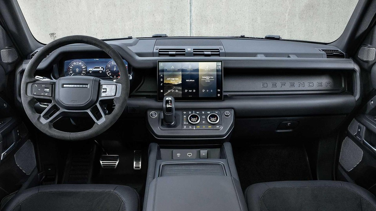 Land Rover Defender V8 2022: Phiên bản nâng cấp động cơ V8 siêu nạp 5.0L đem đến sức mạnh vượt trội ảnh 6