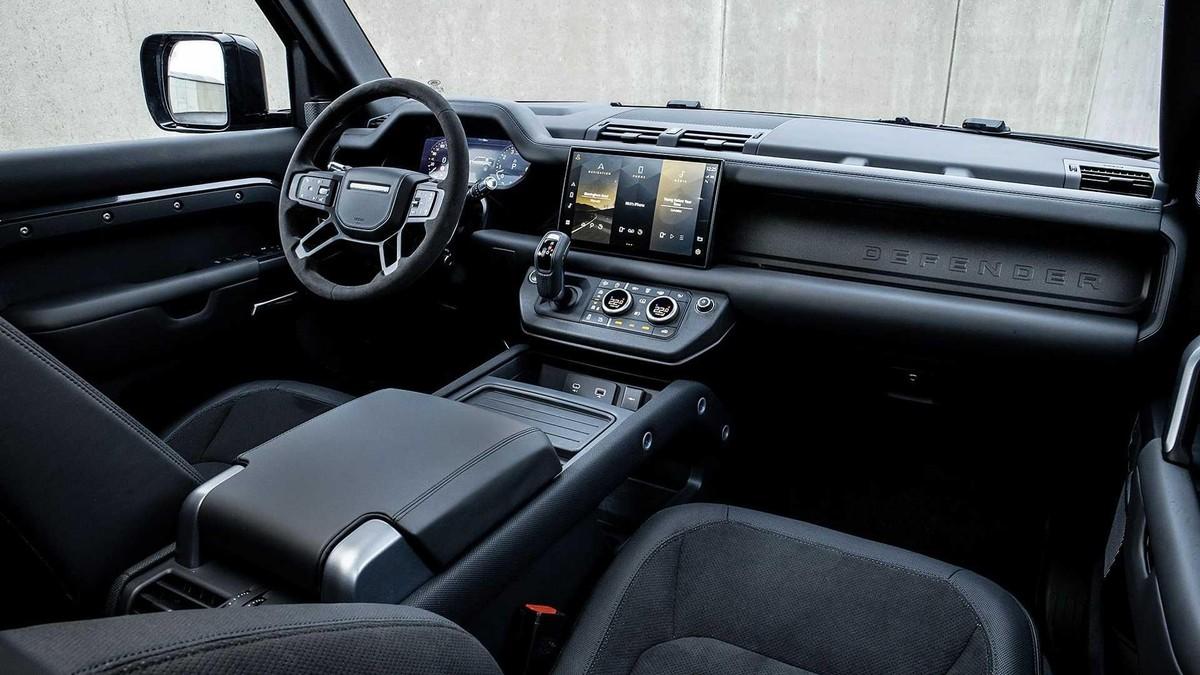 Land Rover Defender V8 2022: Phiên bản nâng cấp động cơ V8 siêu nạp 5.0L đem đến sức mạnh vượt trội ảnh 7