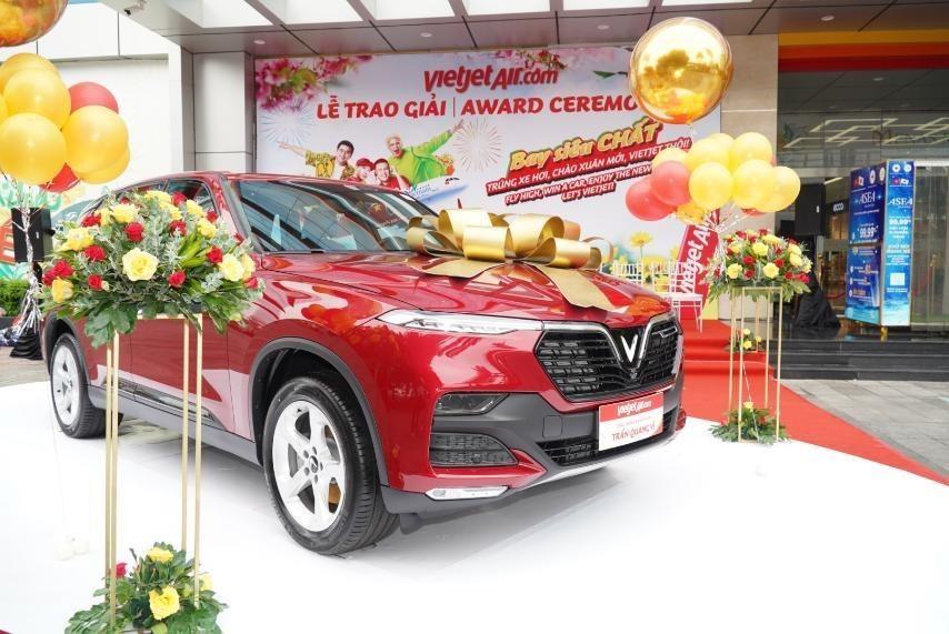 Bay chất cùng Vietjet, khách hàng nhận giải chung cuộc xe hơi 1,5 tỷ đồng ảnh 4