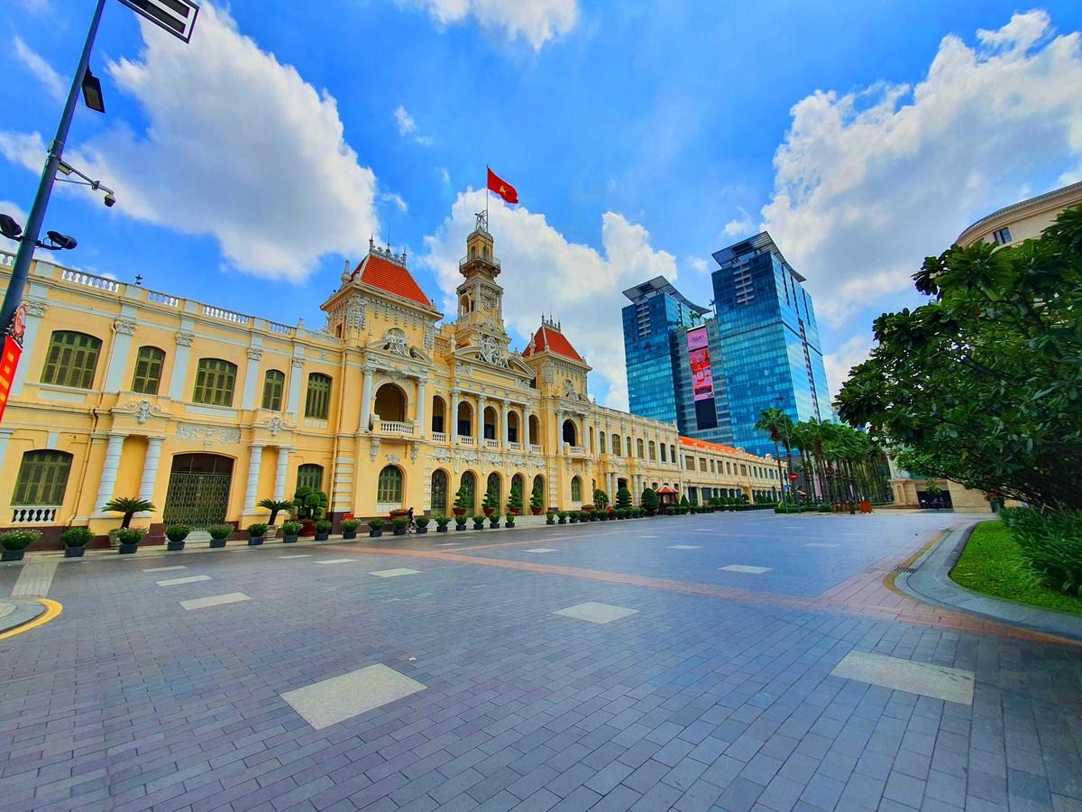 Sài Gòn những ngày chống dịch ảnh 9