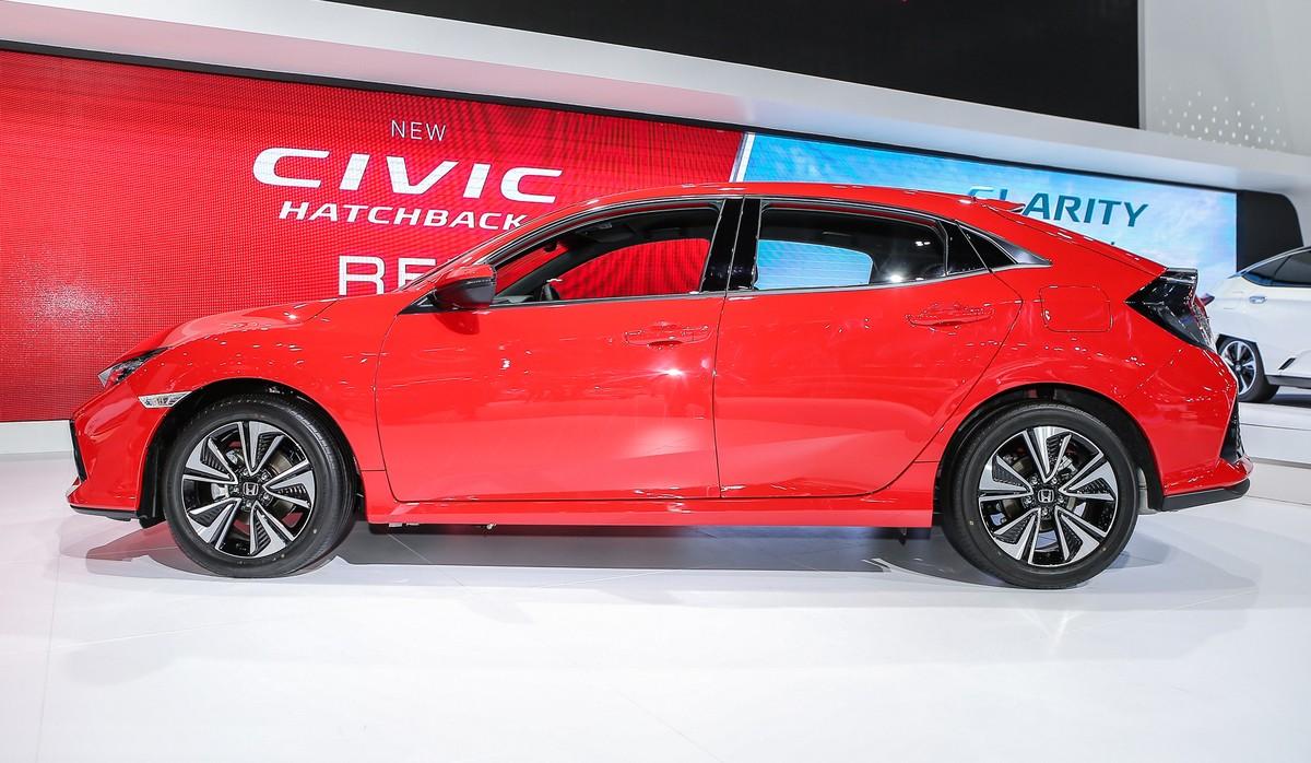 Honda Civic Red - chiếc hatchback thể thao ảnh 3