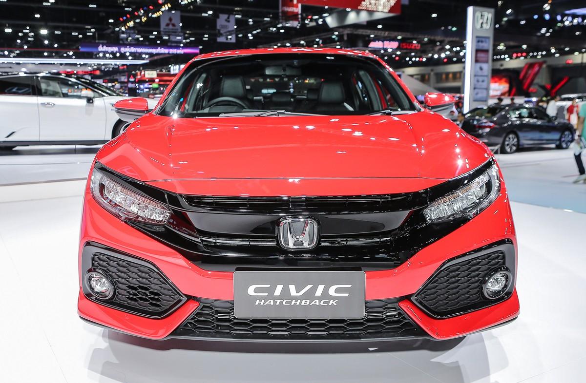 Honda Civic Red - chiếc hatchback thể thao ảnh 4