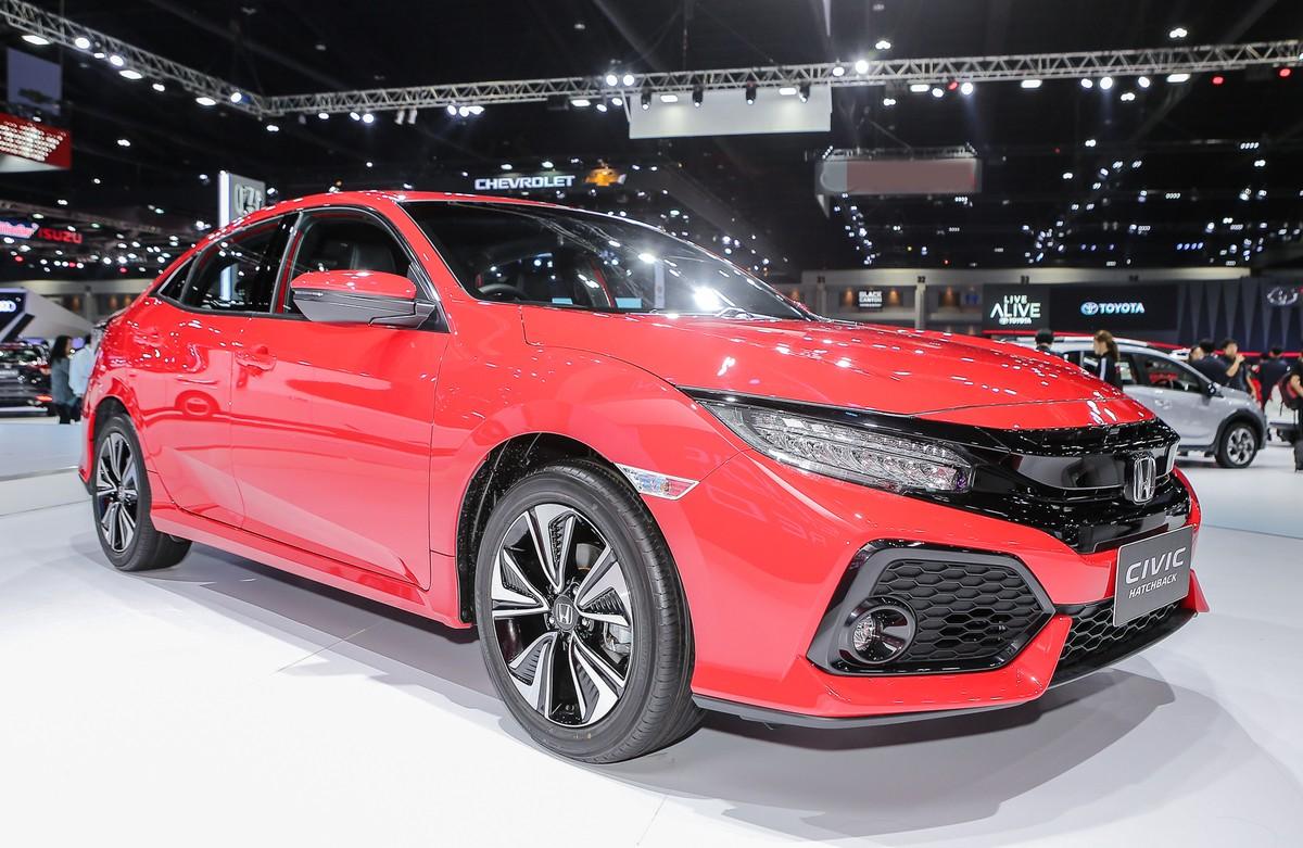 Honda Civic Red - chiếc hatchback thể thao ảnh 2