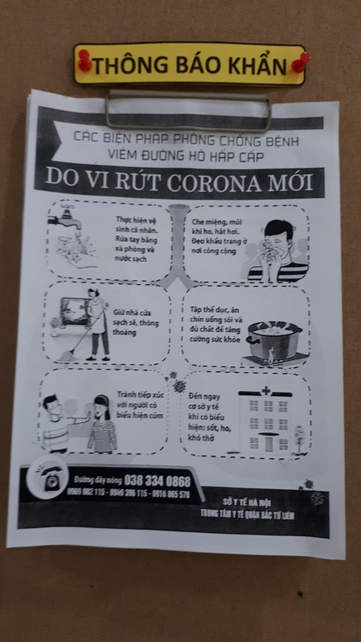 Dân chung cư chủ động phòng, chống virus Corona ảnh 10