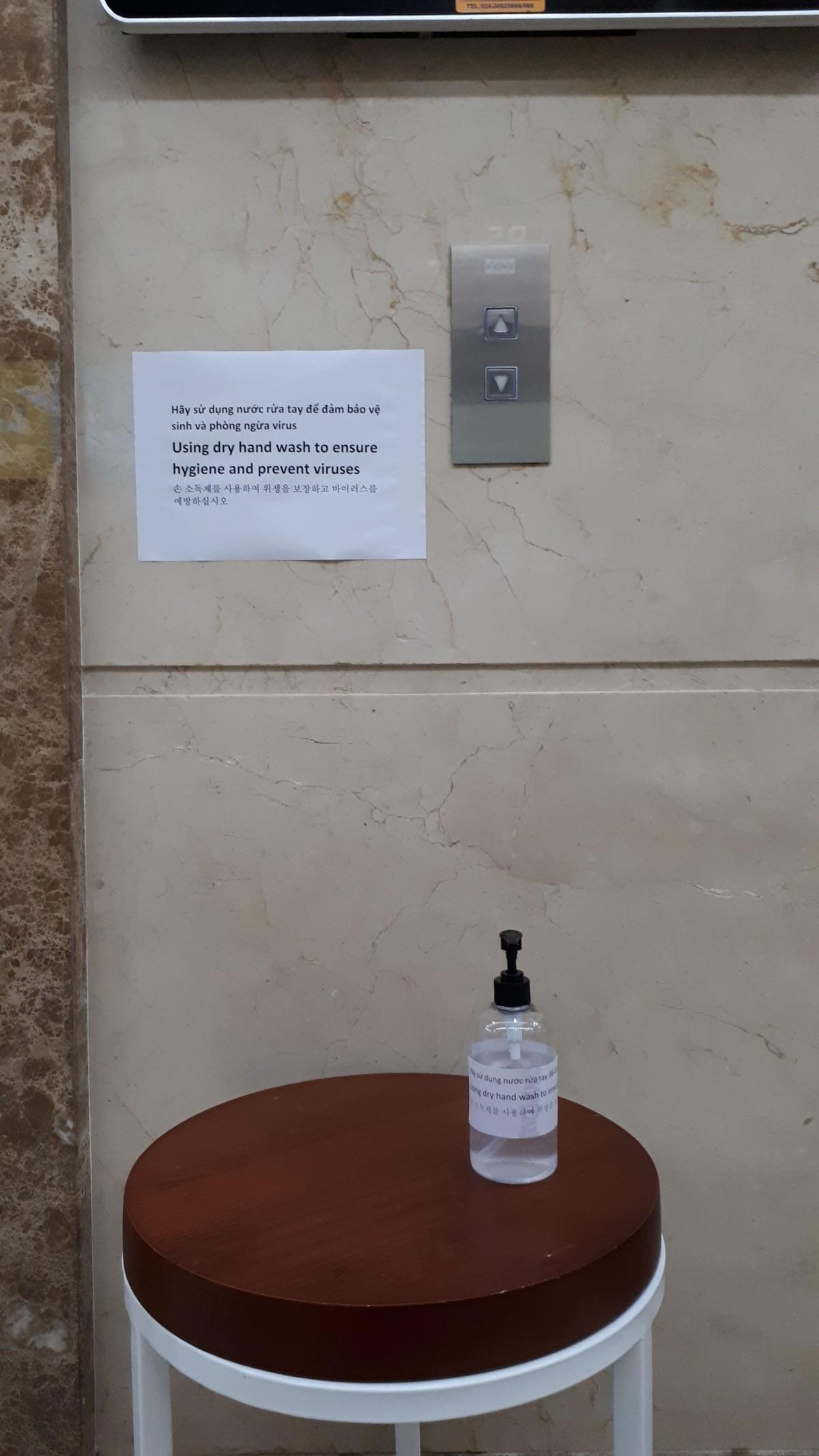 Dân chung cư chủ động phòng, chống virus Corona ảnh 2
