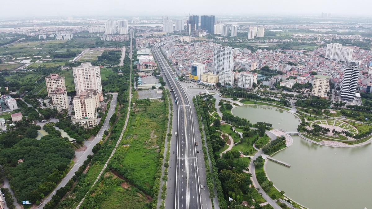 Chuẩn bị thông xe, vành đai 3 trên cao đoạn Mai Dịch - Nam Thăng Long vẫn chưa có lối lên xuống ảnh 6