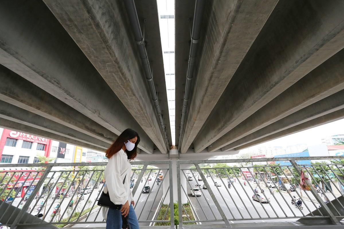 Chuẩn bị thông xe, vành đai 3 trên cao đoạn Mai Dịch - Nam Thăng Long vẫn chưa có lối lên xuống ảnh 14