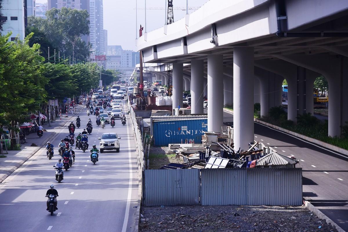 Chuẩn bị thông xe, vành đai 3 trên cao đoạn Mai Dịch - Nam Thăng Long vẫn chưa có lối lên xuống ảnh 9