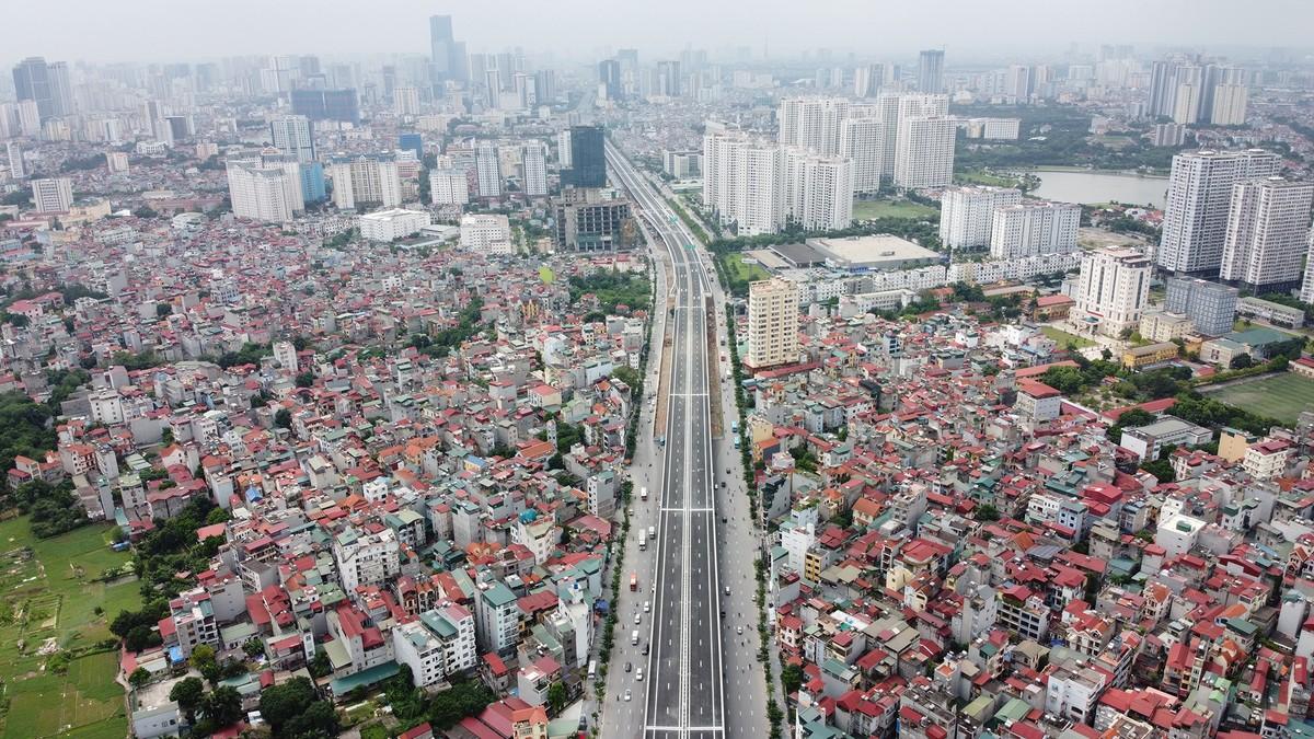 Chuẩn bị thông xe, vành đai 3 trên cao đoạn Mai Dịch - Nam Thăng Long vẫn chưa có lối lên xuống ảnh 5