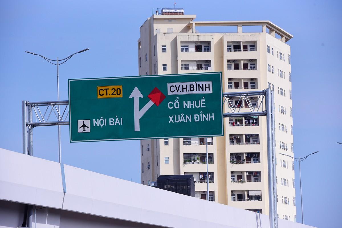 Chuẩn bị thông xe, vành đai 3 trên cao đoạn Mai Dịch - Nam Thăng Long vẫn chưa có lối lên xuống ảnh 11