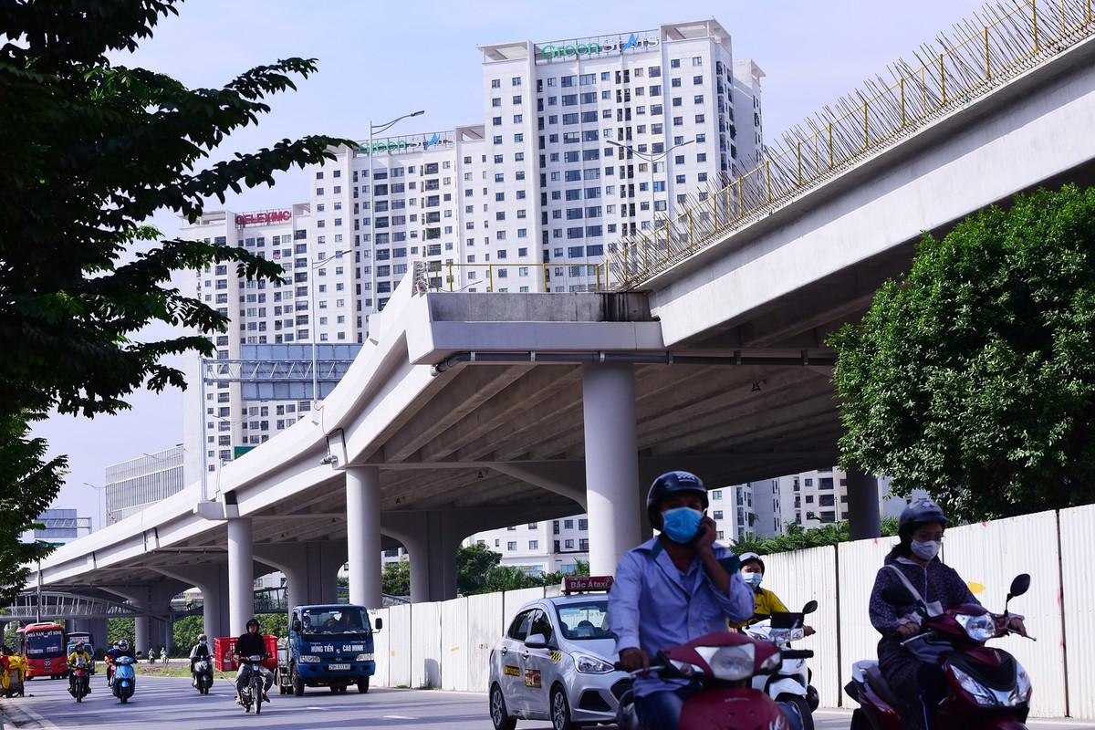 Chuẩn bị thông xe, vành đai 3 trên cao đoạn Mai Dịch - Nam Thăng Long vẫn chưa có lối lên xuống ảnh 7