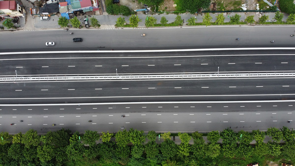 Chuẩn bị thông xe, vành đai 3 trên cao đoạn Mai Dịch - Nam Thăng Long vẫn chưa có lối lên xuống ảnh 4