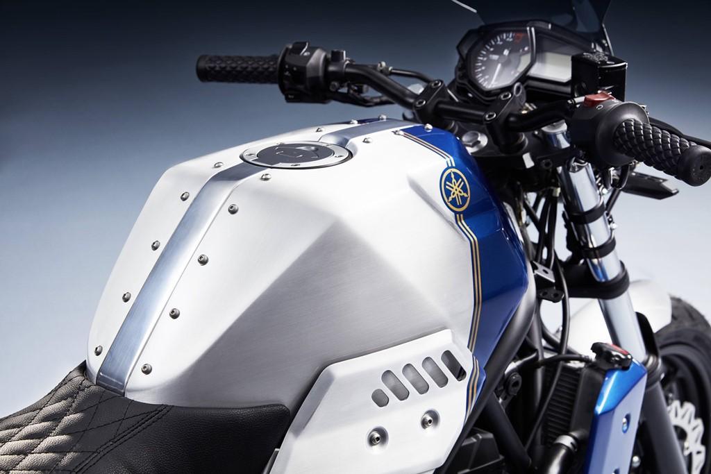 Yamaha MT-03 lột xác với bộ body kit Bunker Custom Janus ảnh 8