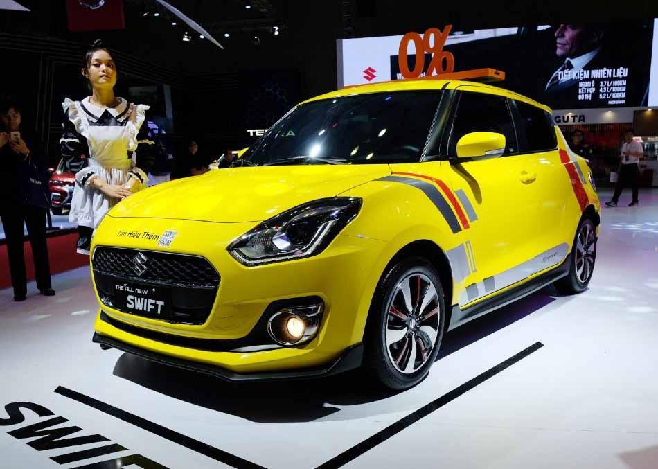 Vietnam Motor Show 2019: Suzuki trẻ trung bất ngờ ảnh 2