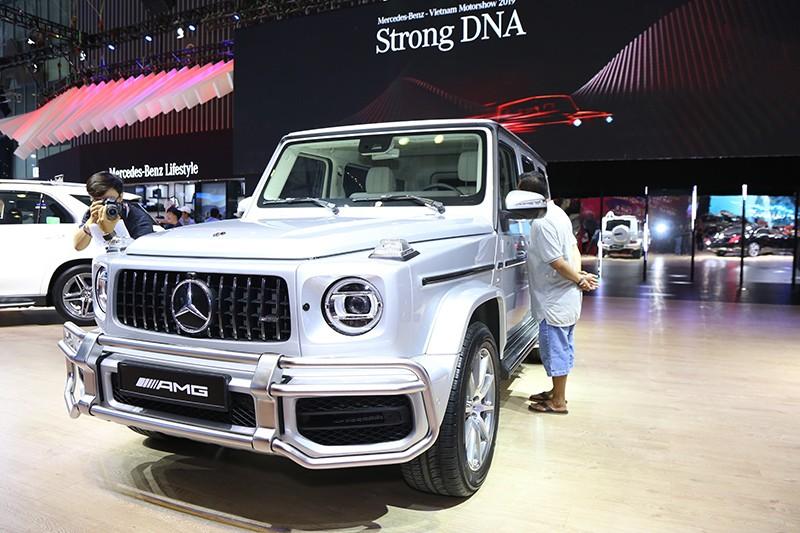 Vietnam Motor Show 2019: Mẫu đẹp - xế sang, gian hàng của Mercedes-Benz hút khách ảnh 6