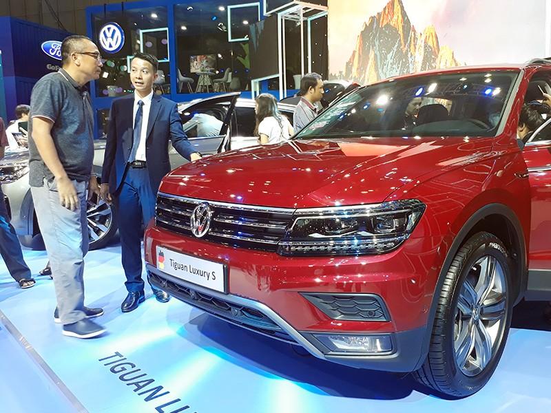 Vietnam Motor Show 2019: Volkswagen Touareg giá hơn 3 tỷ đồng có gì đặc biệt? ảnh 4